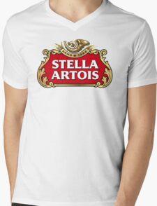 Stella Artois Mens V-Neck T-Shirt
