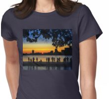 Dance until the Sun Goes Down Womens Fitted T-Shirt