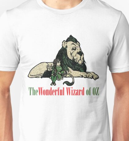 The Wonderful Wizard of OZ Characters Unisex T-Shirt