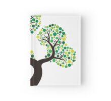 Colorful tree, colouring art Carnet cartonné