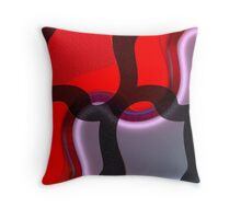 Abstract #62b Throw Pillow