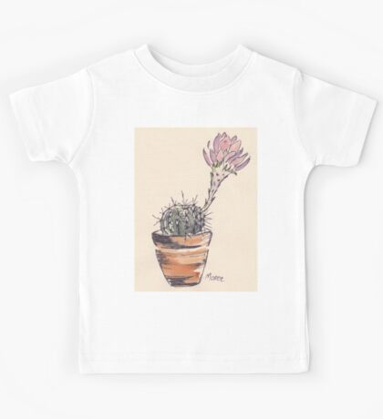 Echinopsis oxygona cactus Kids Tee