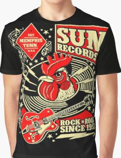 Sun Records : Rock N' Roll Since 1952 Graphic T-Shirt