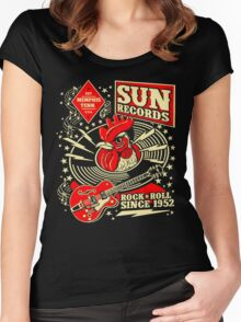 Sun Records : Rock N' Roll Since 1952 Women's Fitted Scoop T-Shirt