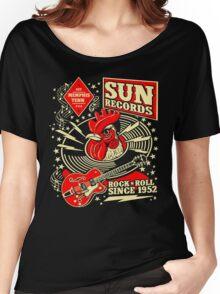 Sun Records : Rock N' Roll Since 1952 Women's Relaxed Fit T-Shirt