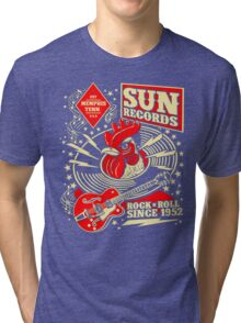 Sun Records : Rock N' Roll Since 1952 Tri-blend T-Shirt