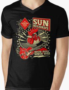 Sun Records : Rock N' Roll Since 1952 Mens V-Neck T-Shirt