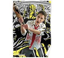 Tatiana Maslany in Shaun of the Dead (SDCC 2014) Poster