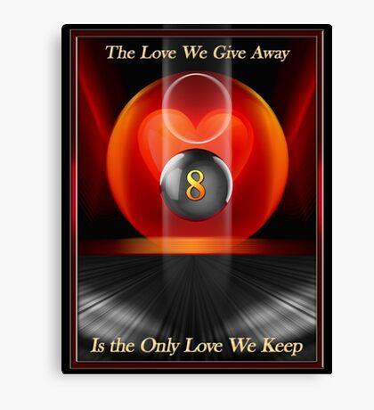Love Away Canvas Print