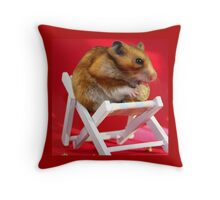Little Pet's Peanuts Pleasures Throw Pillow