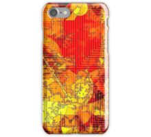 Hot Random Abstract Shapes: Maps & Apps Series iPhone Case/Skin