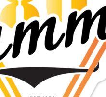Retro LI Summer Sticker