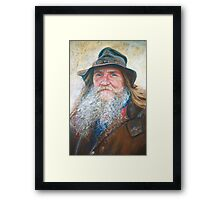 Portrait of Graeme Framed Print