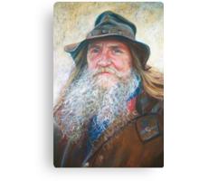 Portrait of Graeme Canvas Print