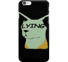 "lying cat- saga comic ""lying"" iPhone Case/Skin"