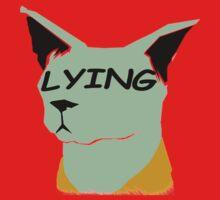 "lying cat- saga comic ""lying"" Kids Clothes"