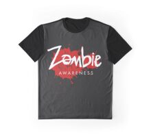 Zombie Awareness Graphic T-Shirt