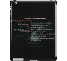Demons iPad Case/Skin