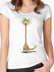 Alola Exeggutor (Normal) Women's Fitted Scoop T-Shirt