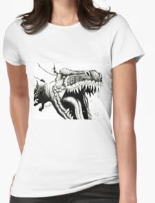 All Hail the King Womens Fitted T-Shirt