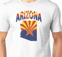 Arizona Flag Map USA T-Shirt Unisex T-Shirt
