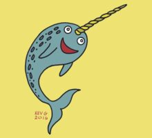 Silly Narwhal Kids Tee