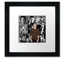 Dylan O'Brien Framed Print