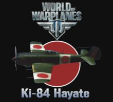 World of Warplanes Ki-84 Hayate by Mil Merchant