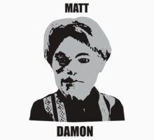 Matt Damon by barbz77