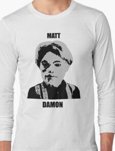 Matt Damon Long Sleeve T-Shirt