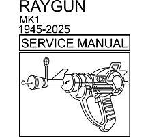 RAYGUN  Photographic Print