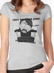 They Took Our Jobs Women's Fitted Scoop T-Shirt