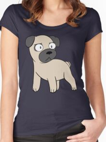Pug Love! Women's Fitted Scoop T-Shirt
