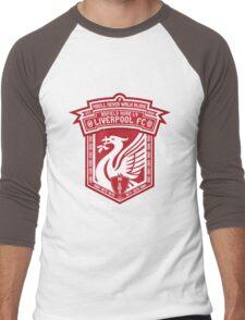 Liverpool FC - Alternate Logo / Badge Men's Baseball ¾ T-Shirt