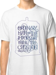 Ordinary Man - Outline Classic T-Shirt