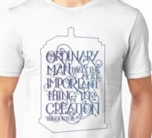 Ordinary Man - Outline Unisex T-Shirt