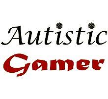 Autistic Gamer Photographic Print