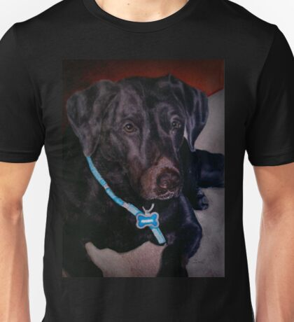 Black Labrador Retriever Unisex T-Shirt
