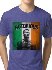 Notorious - Tricolour Face Tri-blend T-Shirt