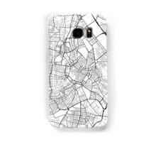 Vienna Map, Austria - Black and White Samsung Galaxy Case/Skin