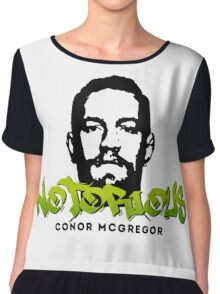 Conor McGregor Graffiti 04 Chiffon Top