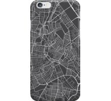 Vienna Map, Austria - Gray  iPhone Case/Skin
