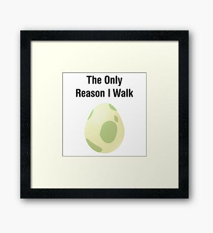 Pokemon Egg Framed Print