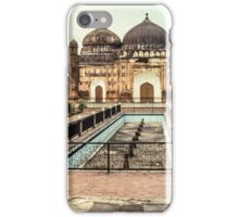 Mosque at Lalbagh Fort iPhone Case/Skin