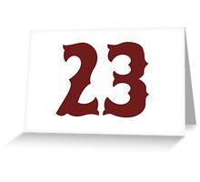 23 Greeting Card