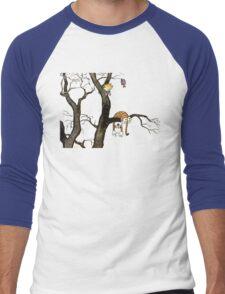 Calvin And Hobbes : I'll Help You Hob Men's Baseball ¾ T-Shirt