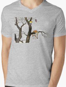 Calvin And Hobbes : I'll Help You Hob Mens V-Neck T-Shirt
