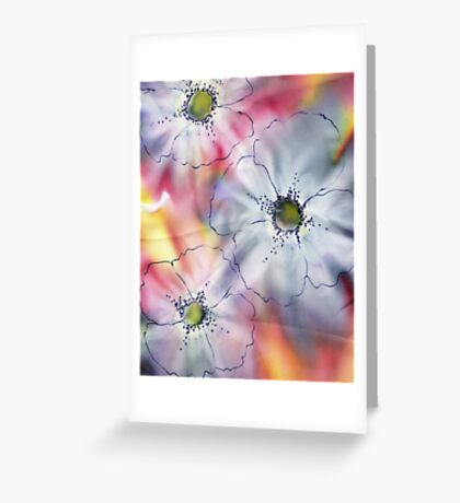 FLOWERS WATERCOLOUR Greeting Card