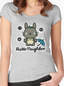 Hello Neighbor Women's Fitted Scoop T-Shirt