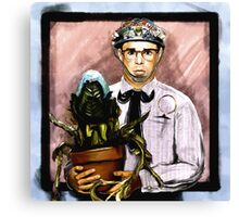 Rick Moranis - 1980's comedy superstar Canvas Print